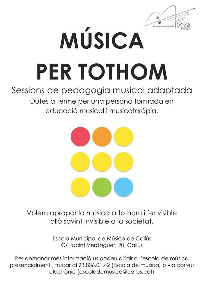Música per tothom